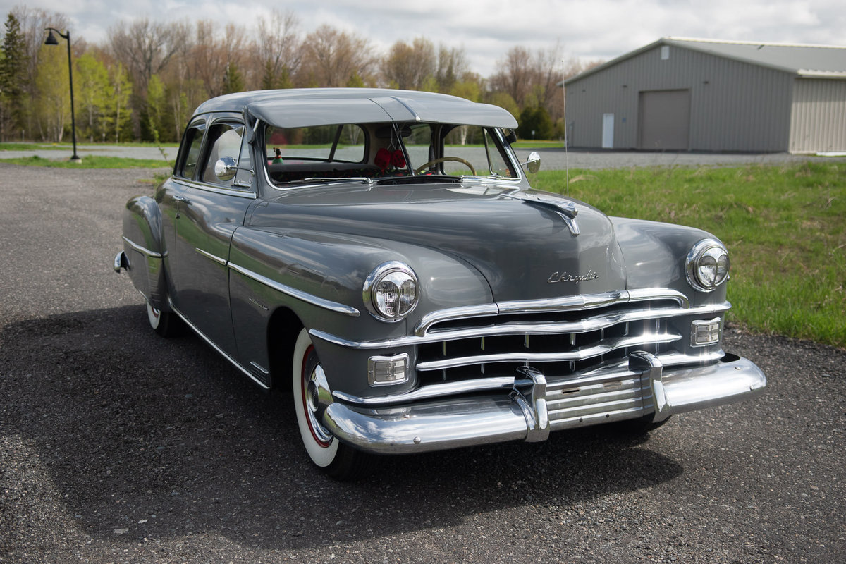 1950 Chrysler Royal 2DR Club Coupe For Sale (picture 2 of 6)