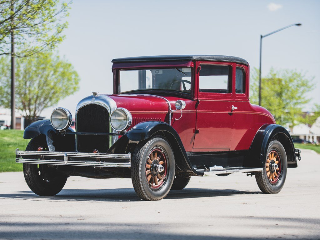 1928 Chrysler 62 Business Coupe For Sale by Auction (picture 1 of 6)