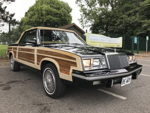 1985 Chrysler LeBaron Town & Country Convertible For Sale