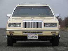 1985 CHRYSLER LEBARON TOWN & COUNTRY STATION WAGON For Sale by Auction