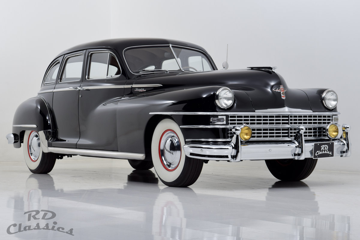 1948 Chrysler New Yorker Straight 8 For Sale (picture 1 of 6)