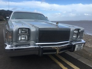 1978 Chrysler Cordoba For Sale