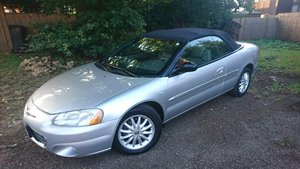 2002 Convertible Chrysler 2.7l V6 LXi. American Import SOLD
