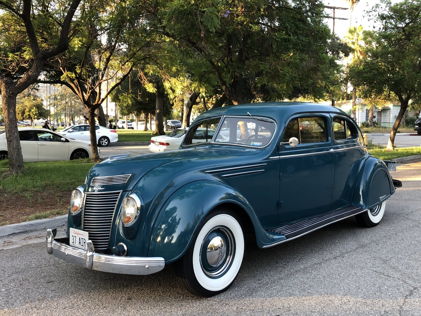 1937 CHRYSLER AIRFLOW COUPE SOLD (picture 1 of 6)