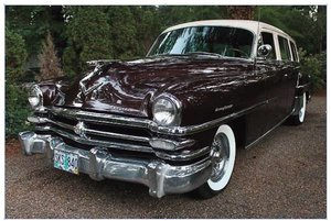 1953 Chrysler New Yorker - Lot 637 For Sale by Auction