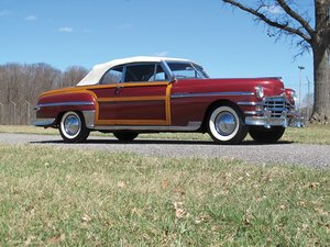 1949 Chrysler Town and Country Convertible  For Sale by Auction