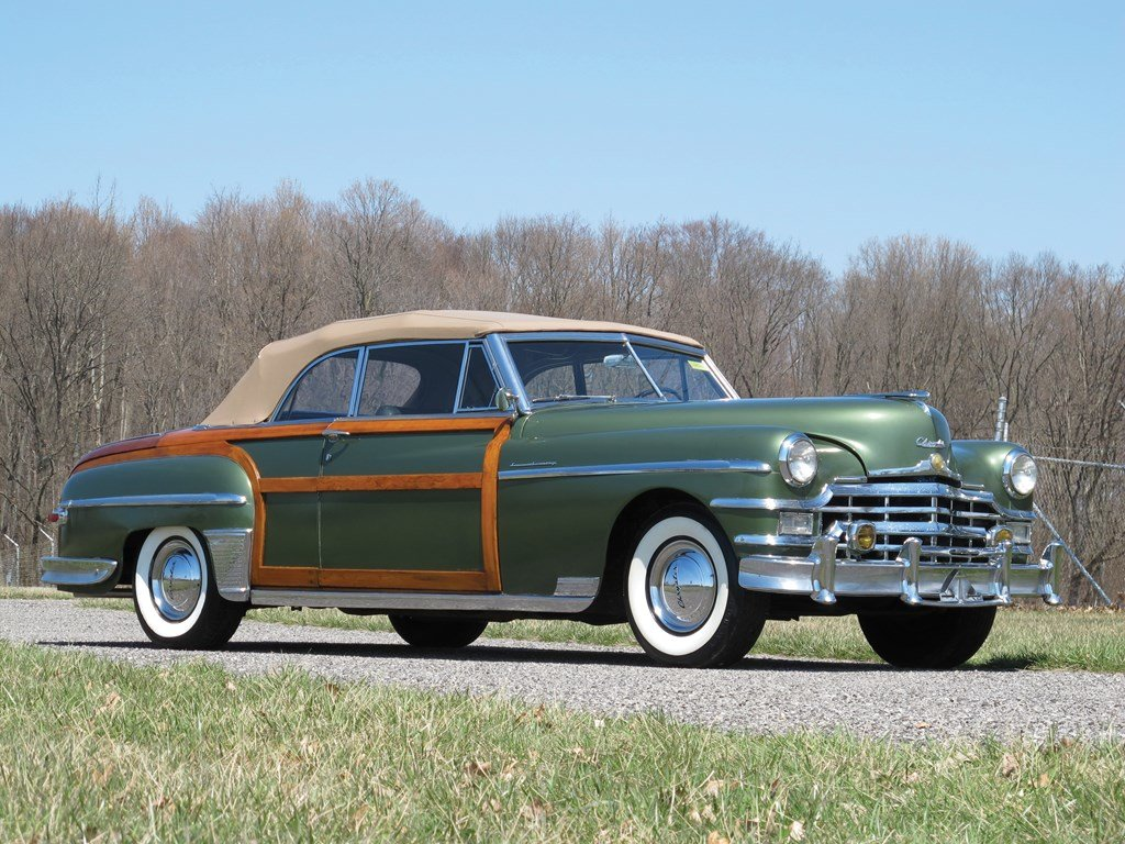 1949 Chrysler Town and Country Convertible  For Sale by Auction (picture 1 of 6)