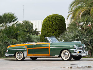 1949 CHRYSLER NEW YORKER 'TOWN & COUNTRY' CONVERTIBLE For Sale by Auction