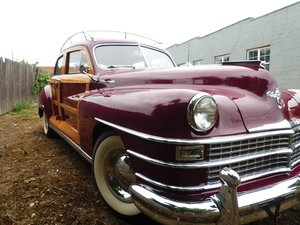 1948 Chrysler Town and Country Sedan  For Sale by Auction