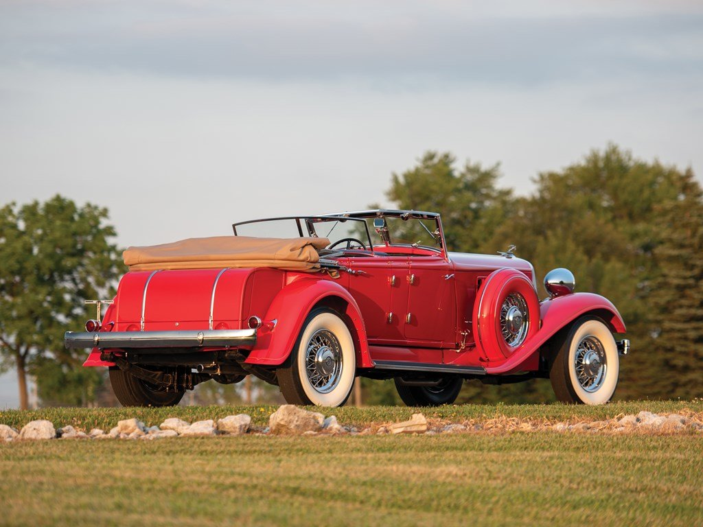 1933 Chrysler CL Imperial Dual-Windshield Phaeton by LeBaron For Sale by Auction (picture 2 of 6)