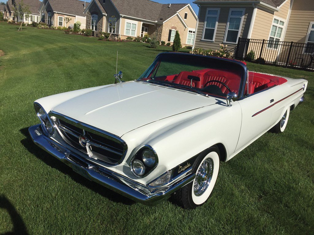 1962 Chrysler 300 Convertible  For Sale by Auction (picture 1 of 6)