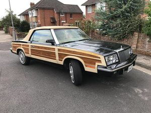 1985 Chrysler LeBaron Town and Country Convertible For Sale