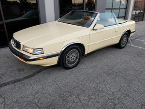 1989 Chrysler TC By Maserati Convertible Mint 2 Tops $5.9k