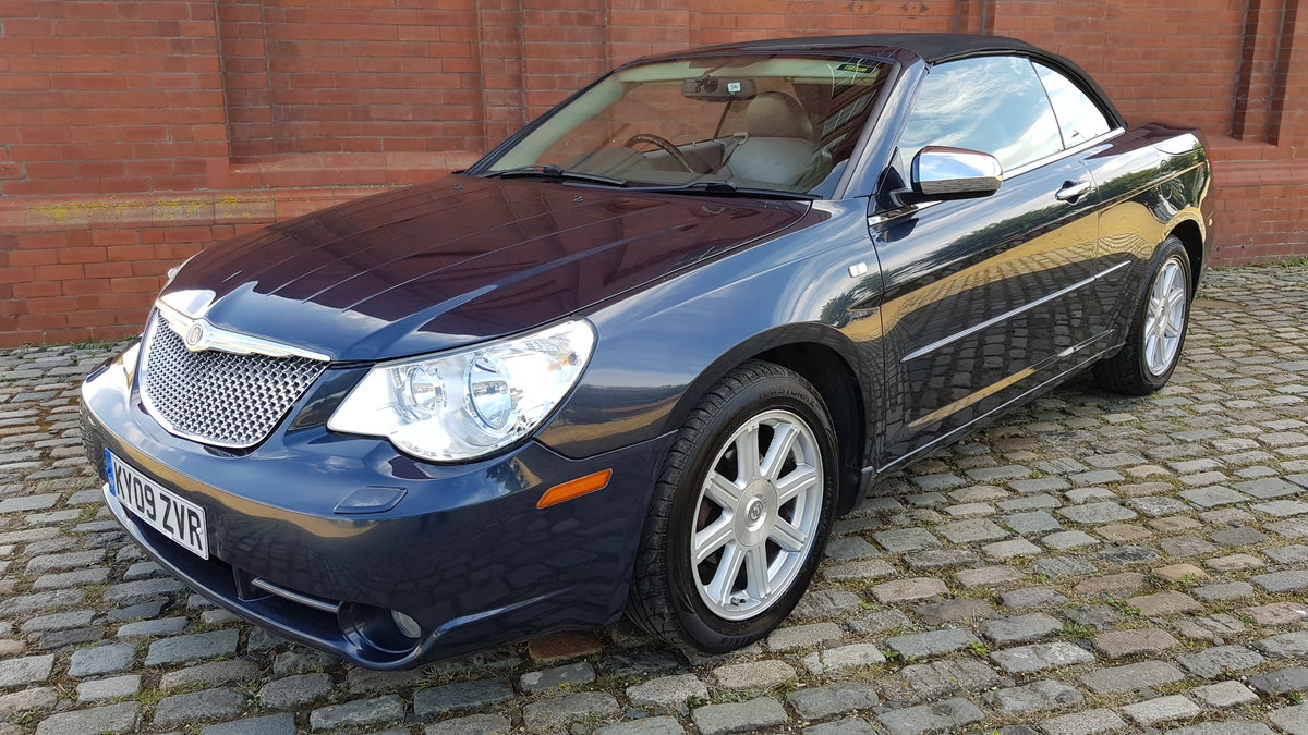 2009 CHRYSLER SEBRING LIMITED 2.7 V6 AUTOMATIC SOFT TOP For Sale (picture 1 of 6)