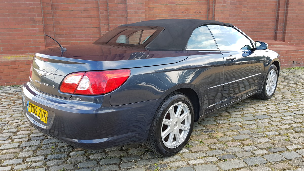 2009 CHRYSLER SEBRING LIMITED 2.7 V6 AUTOMATIC SOFT TOP For Sale (picture 2 of 6)