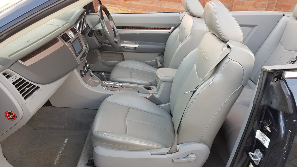 2009 CHRYSLER SEBRING LIMITED 2.7 V6 AUTOMATIC SOFT TOP For Sale (picture 3 of 6)