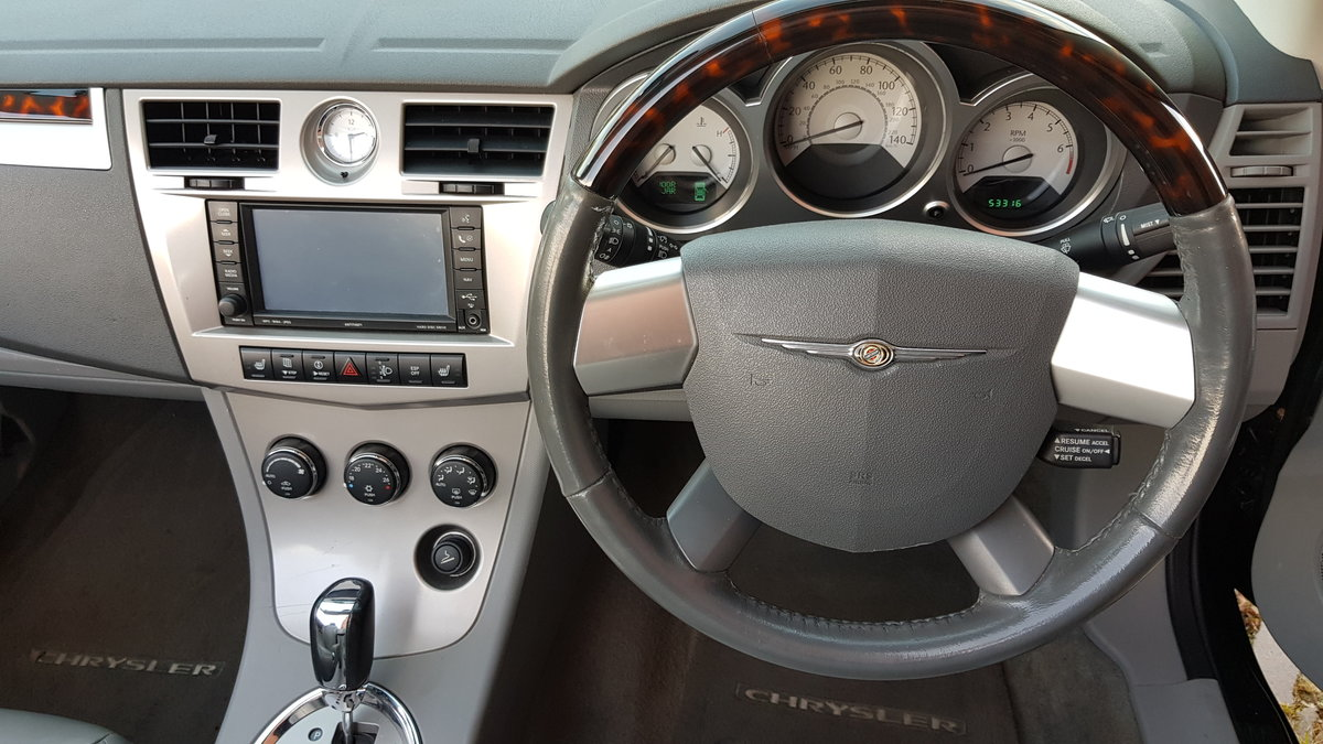 2009 CHRYSLER SEBRING LIMITED 2.7 V6 AUTOMATIC SOFT TOP For Sale (picture 5 of 6)