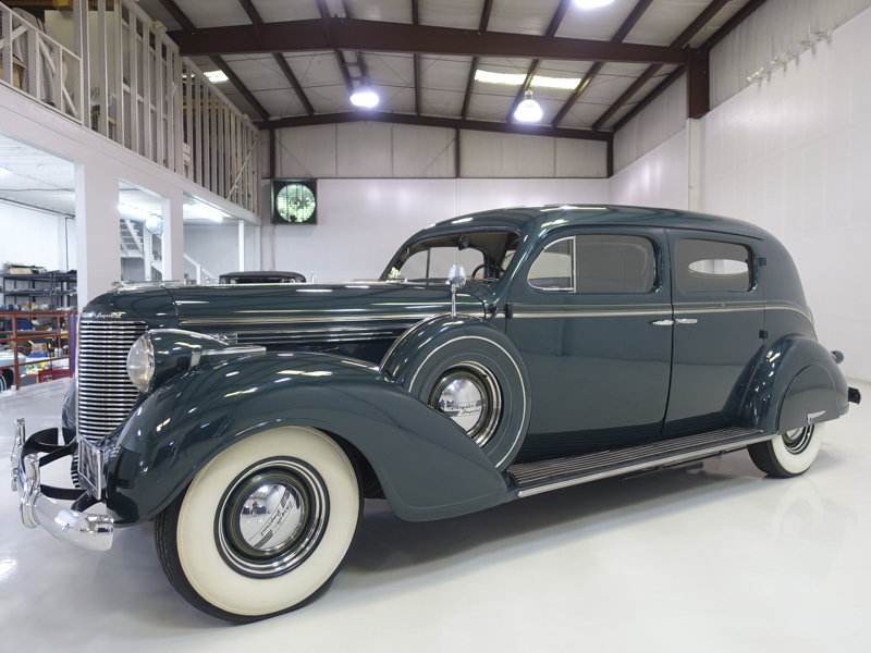 1938 Chrysler Custom Imperial Town Limousine by LeBaron For Sale (picture 1 of 6)