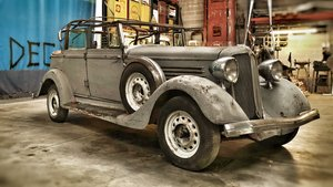 1934 Chrysler CB convertible