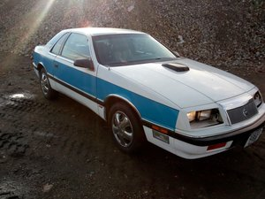 1986 Chrysler Lebaron Turbo  For Sale