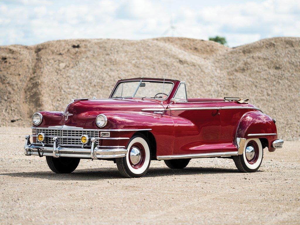 1947 Chrysler Windsor Highlander Convertible  For Sale by Auction (picture 1 of 6)