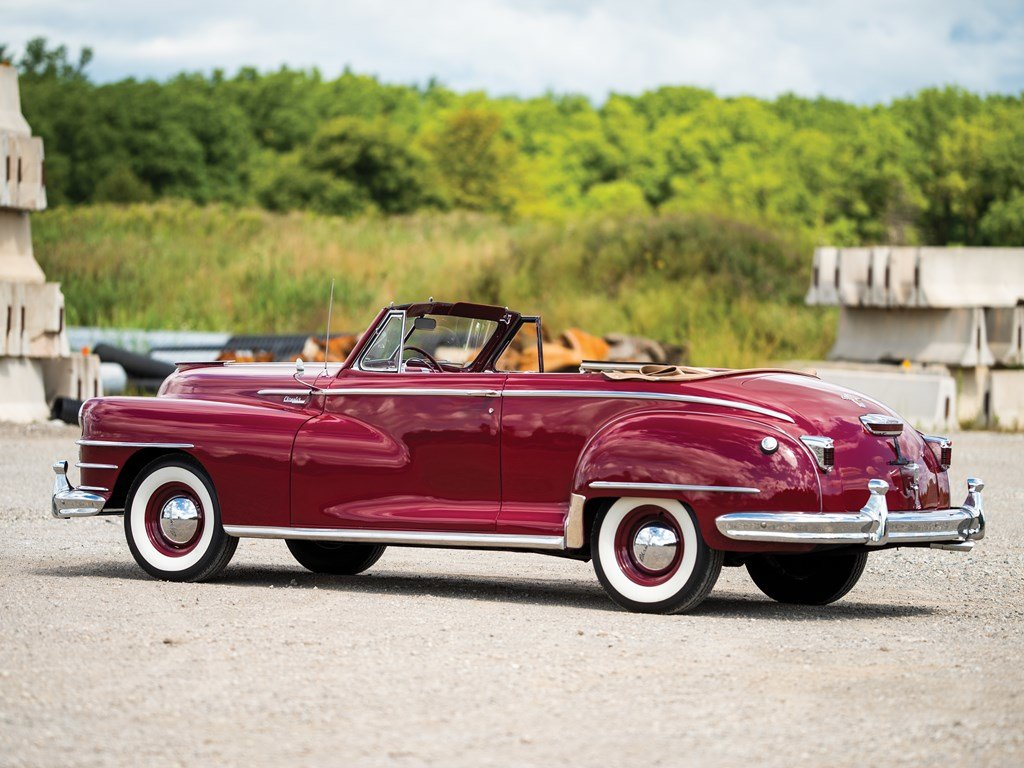 1947 Chrysler Windsor Highlander Convertible  For Sale by Auction (picture 2 of 6)