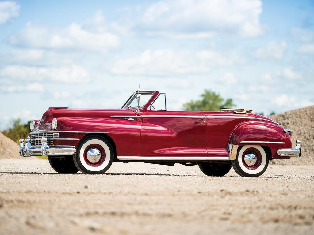 1947 Chrysler Windsor Highlander Convertible  For Sale by Auction (picture 5 of 6)