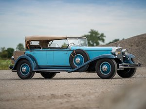 1931 Chrysler CG Imperial Dual-Cowl Phaeton in the style of