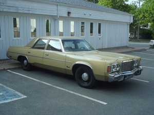1975 Chrysler Newport Sedan