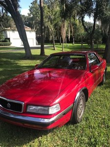 1989 Chrysler TC by Maserati (Sarasota, FL) $18,000 Firm