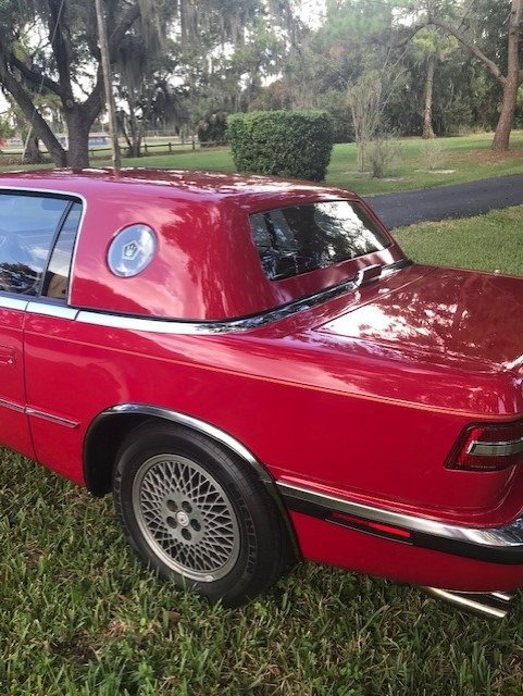 1989 Chrysler TC by Maserati (Sarasota, FL) $18,000 Firm For Sale (picture 2 of 6)