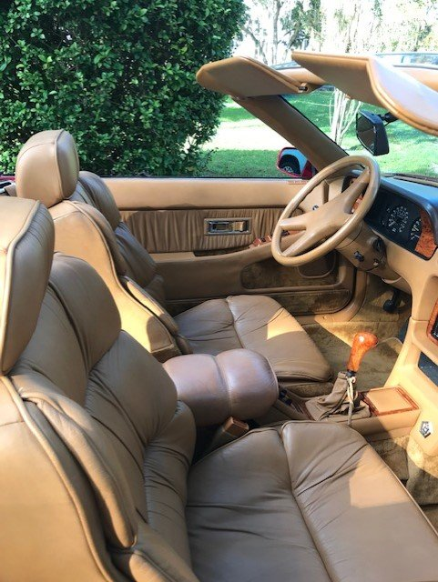 1989 Chrysler TC by Maserati (Sarasota, FL) $18,000 Firm For Sale (picture 4 of 6)