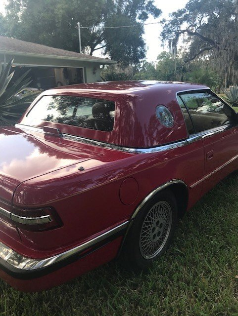 1989 Chrysler TC by Maserati (Sarasota, FL) $18,000 Firm For Sale (picture 6 of 6)