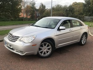 2007 Chrysler sebring limited 6 speed manual diesel