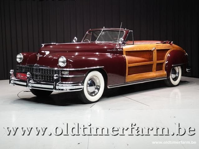 1948 Chrysler Town and Country 2 door Convertible '48 For Sale (picture 1 of 6)