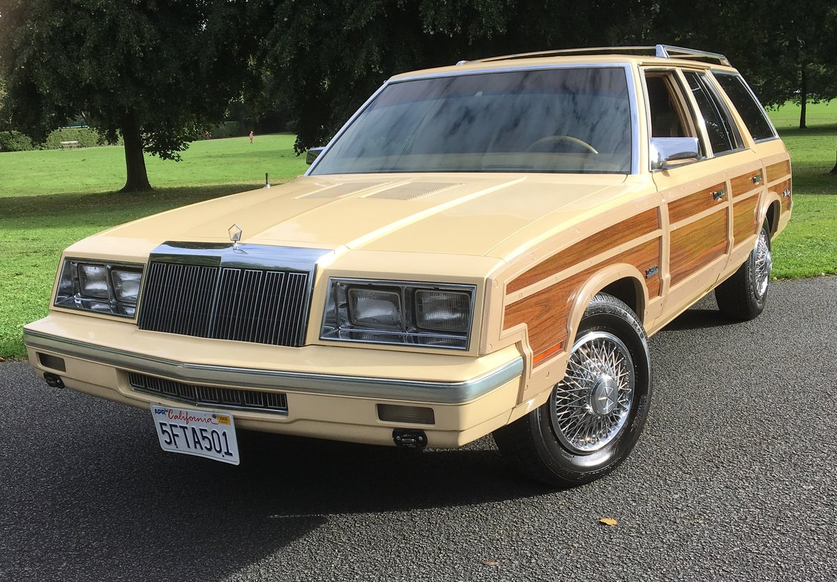 1985 Chrysler Le Baron. PREVIOUSLY OWNED BY MR FRANK SINATRA For Sale (picture 1 of 6)