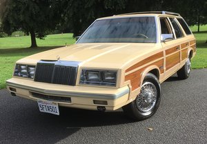 1985 Chrysler Le Baron. PREVIOUSLY OWNED BY MR FRANK SINATRA
