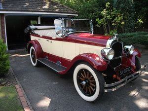 1927 Chrysler Phaeton 60