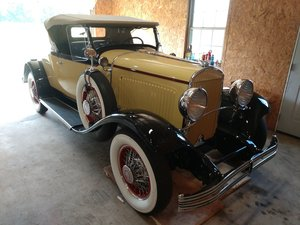 1929 ChryslerRumble Seat Roadster with dual side mounts