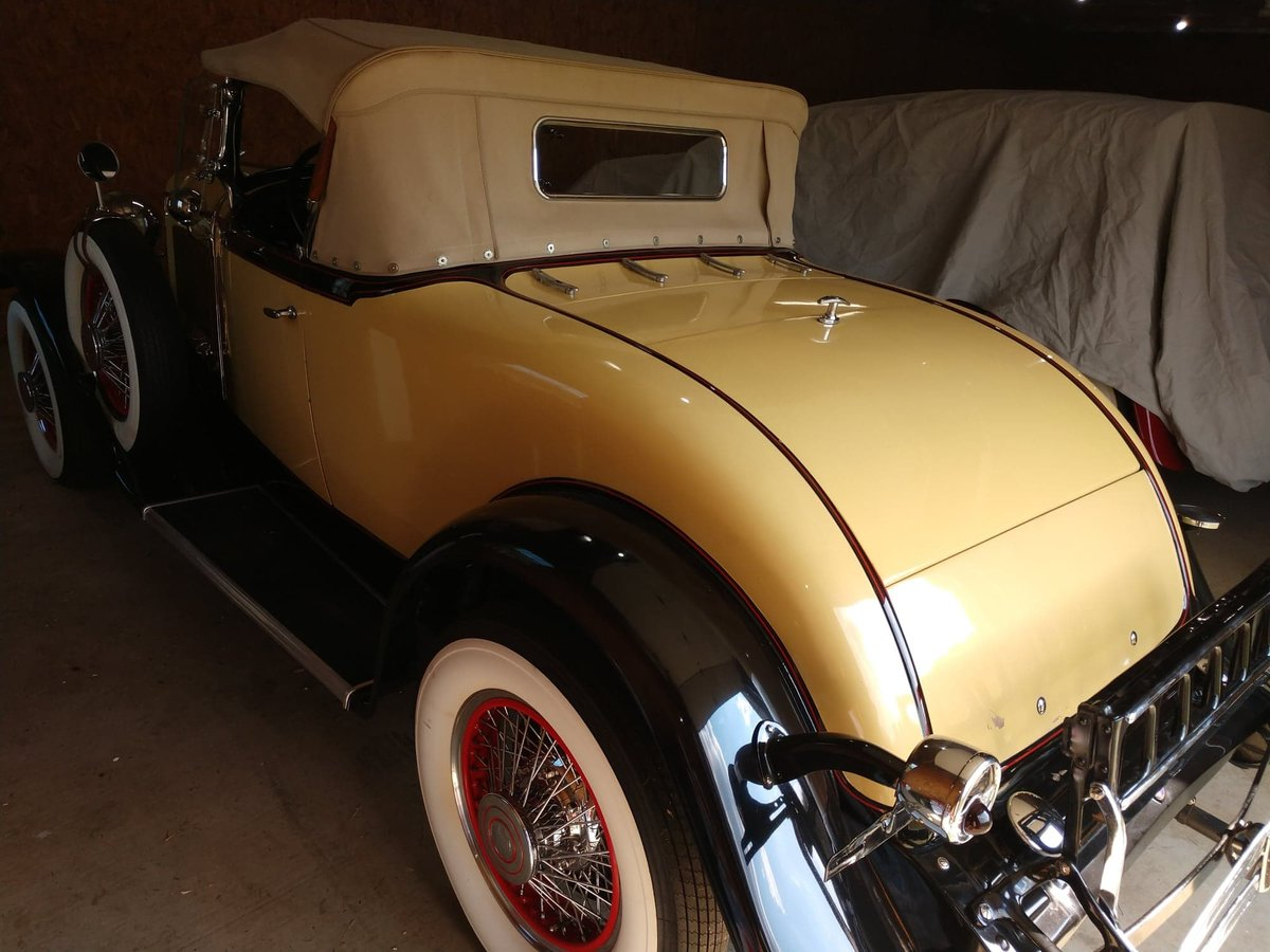 1929 ChryslerRumble Seat Roadster with dual side mounts SOLD (picture 4 of 6)