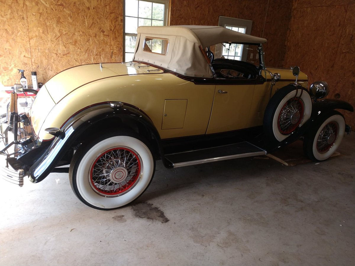 1929 ChryslerRumble Seat Roadster with dual side mounts SOLD (picture 5 of 6)