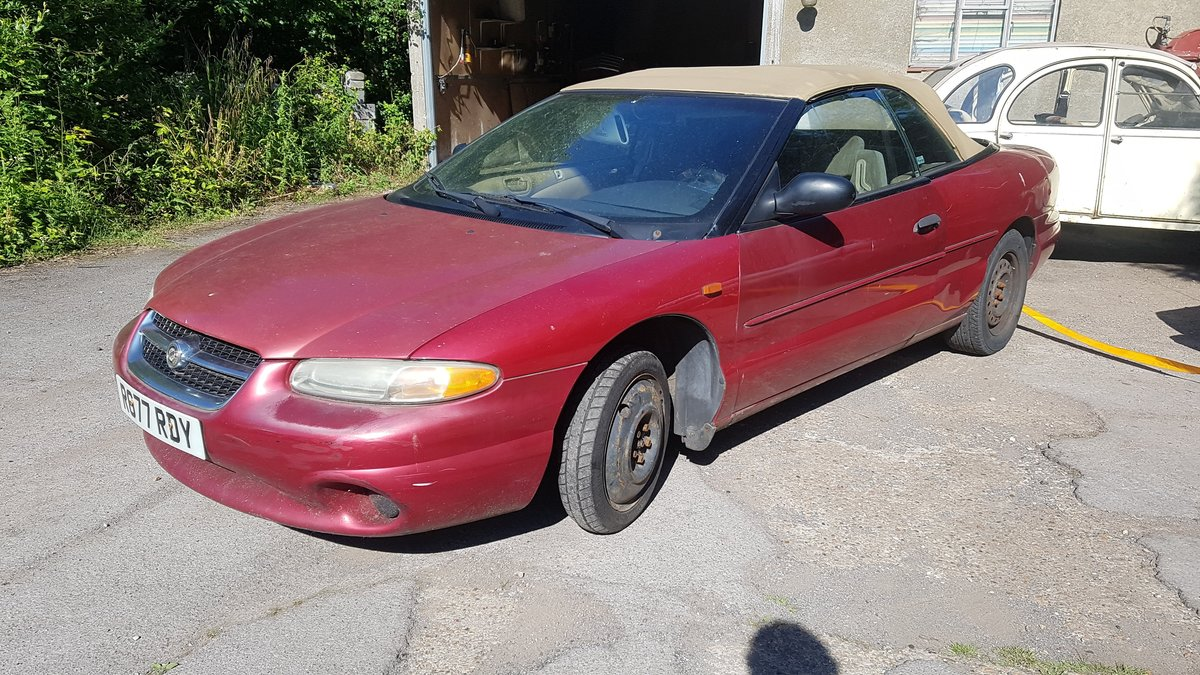 1997 LHD sebring for  restoration or parts !!! For Sale (picture 6 of 6)