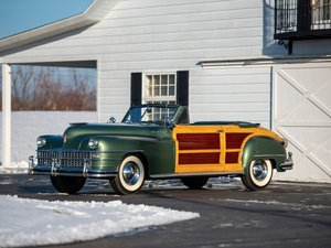 1948 Chrysler Town and Country Convertible  For Sale by Auction