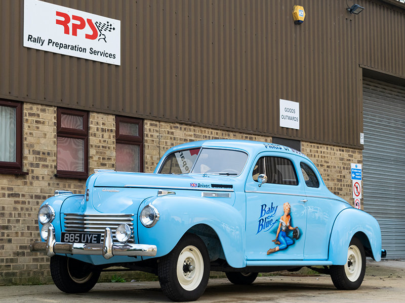 1940 Chrysler C-36 8-Cylinder Traveller Coupe For Sale (picture 1 of 6)