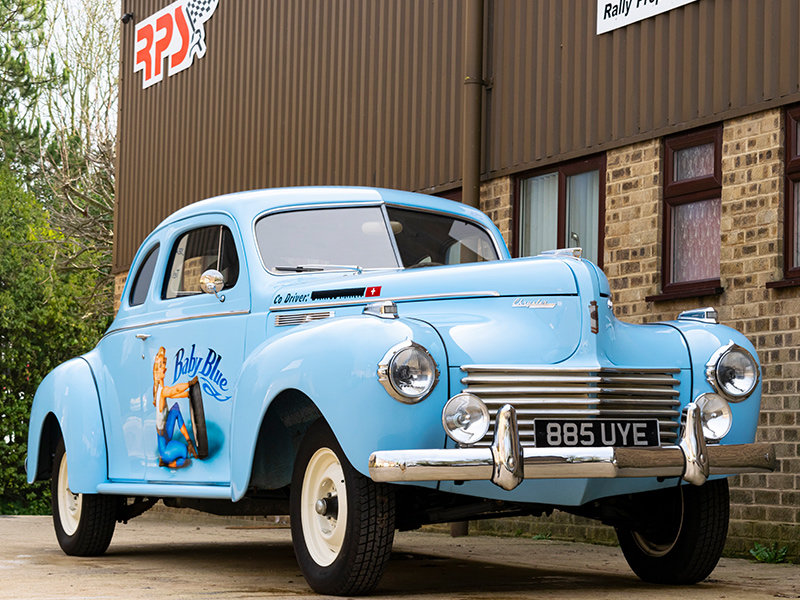 1940 Chrysler C-36 8-Cylinder Traveller Coupe For Sale (picture 2 of 6)