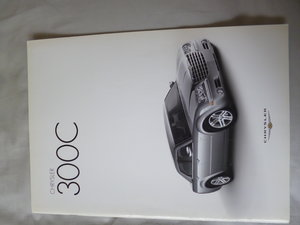 Chrysler 300C UK Sales brochure