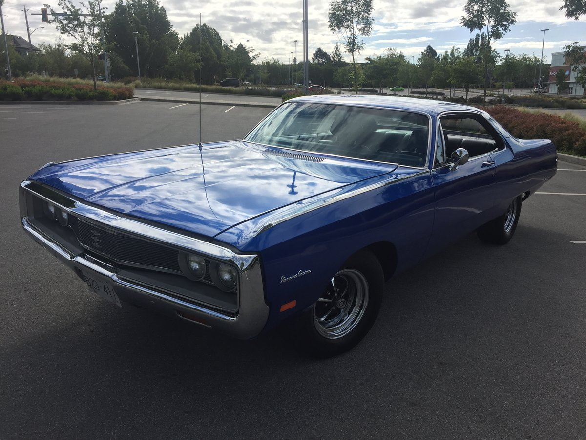 1969 Chrysler Newport Custom  ( Resto - Mod ) For Sale (picture 3 of 6)
