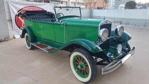 1929 Chrysler 66 convertible
