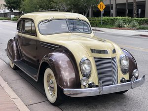 1937 CHRYSLER AIRFLOW COUPE C1