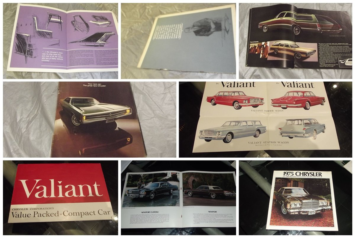 0000 CHRYSLER VARIOUS ORIGINAL FACTORY SALES BROCHURES For Sale (picture 2 of 6)